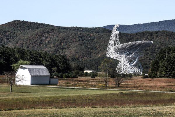 Das Teleskop in Green Bank würde durch Funkwellen gestört werden. (Foto: Steve Przybilla)